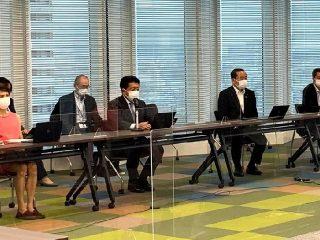 デジタル庁戦略方針会議前